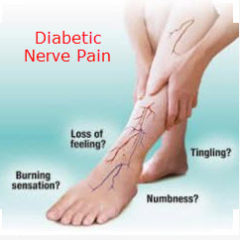 stop diabetic nerve pain neuropathy